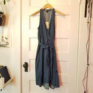 Universal Thread Denim Wrap Dress